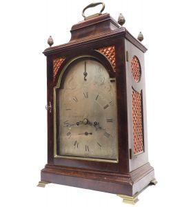 Antique Georgian Twin Fusee English Bracket Clock Verge Clock by Fenwick L Shields