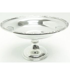 English Antique Solid Silver Centre Piece Bowl, Super Design Fresh and Clean Circa 1920s