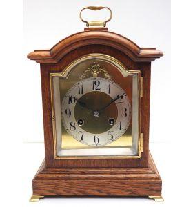 Rare Antique Oak Mantel Clock 8 Day Striking Bracket Clock