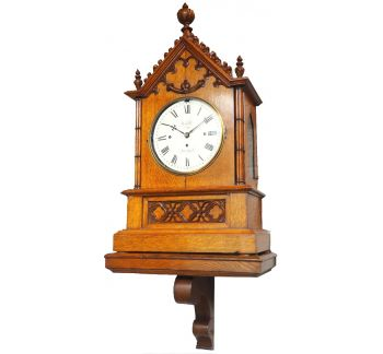 Antique Musical Westminster Chime Bracket Clock 8 Bell Triple Fusee Roskell Liverpool