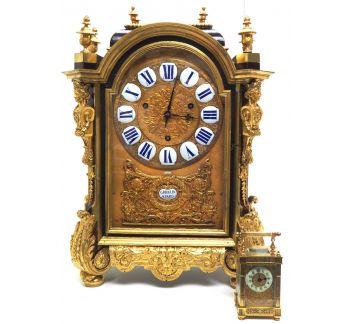 Wow! Phenomenal French Boulle Bracket Clock Rare Verge Bracket Clock By Gribelin A Paris