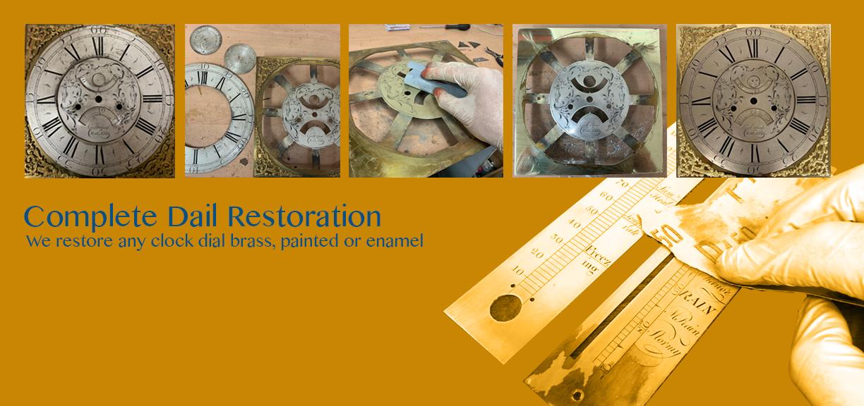 Complete Clock Dial Restoration