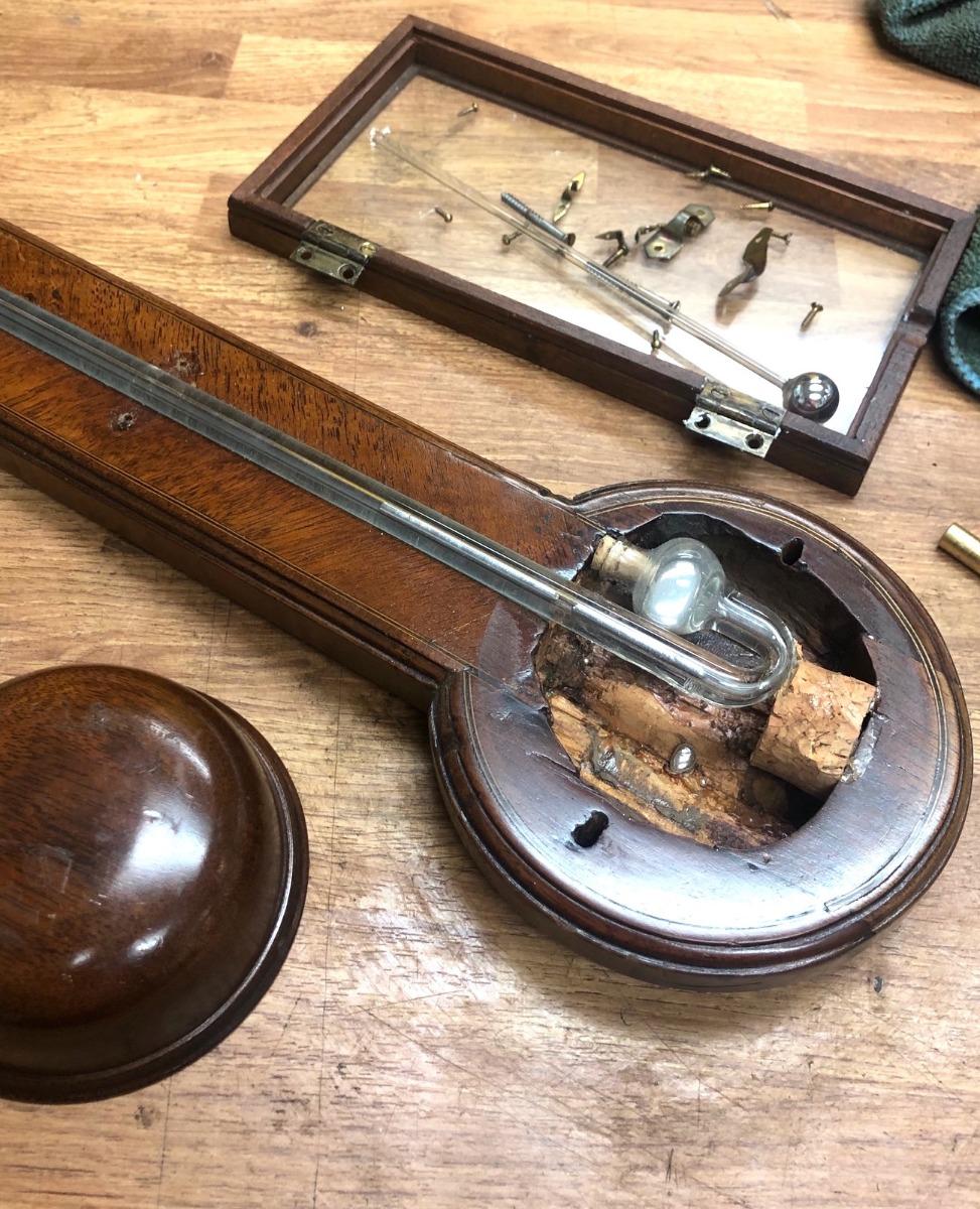 Barometer Restoration www.ukhorology.com