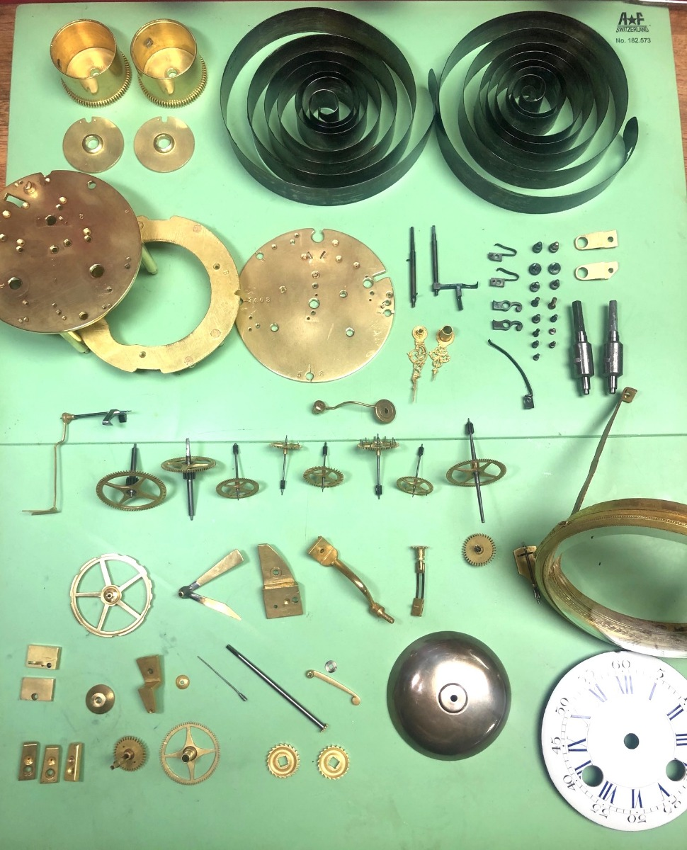 Antique Clock Repair & Servicing French 8 Day Clock Movement