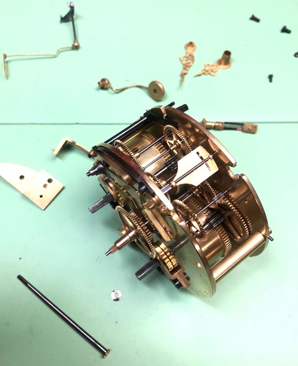 French Movement  Antique Clock Repair & Servicing
