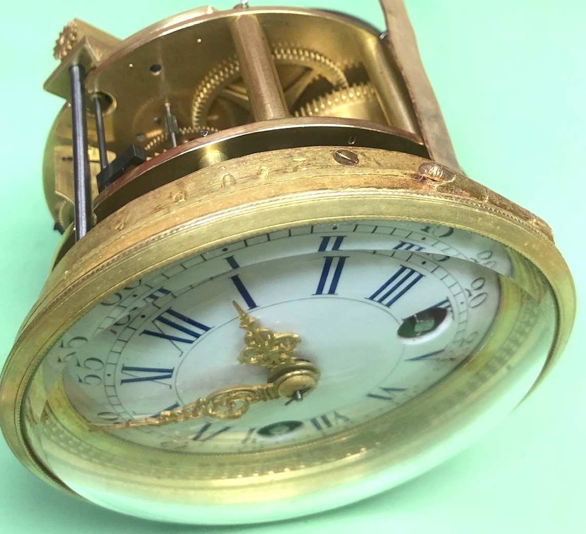 French Polishing  Antique Clock Repair & Servicing