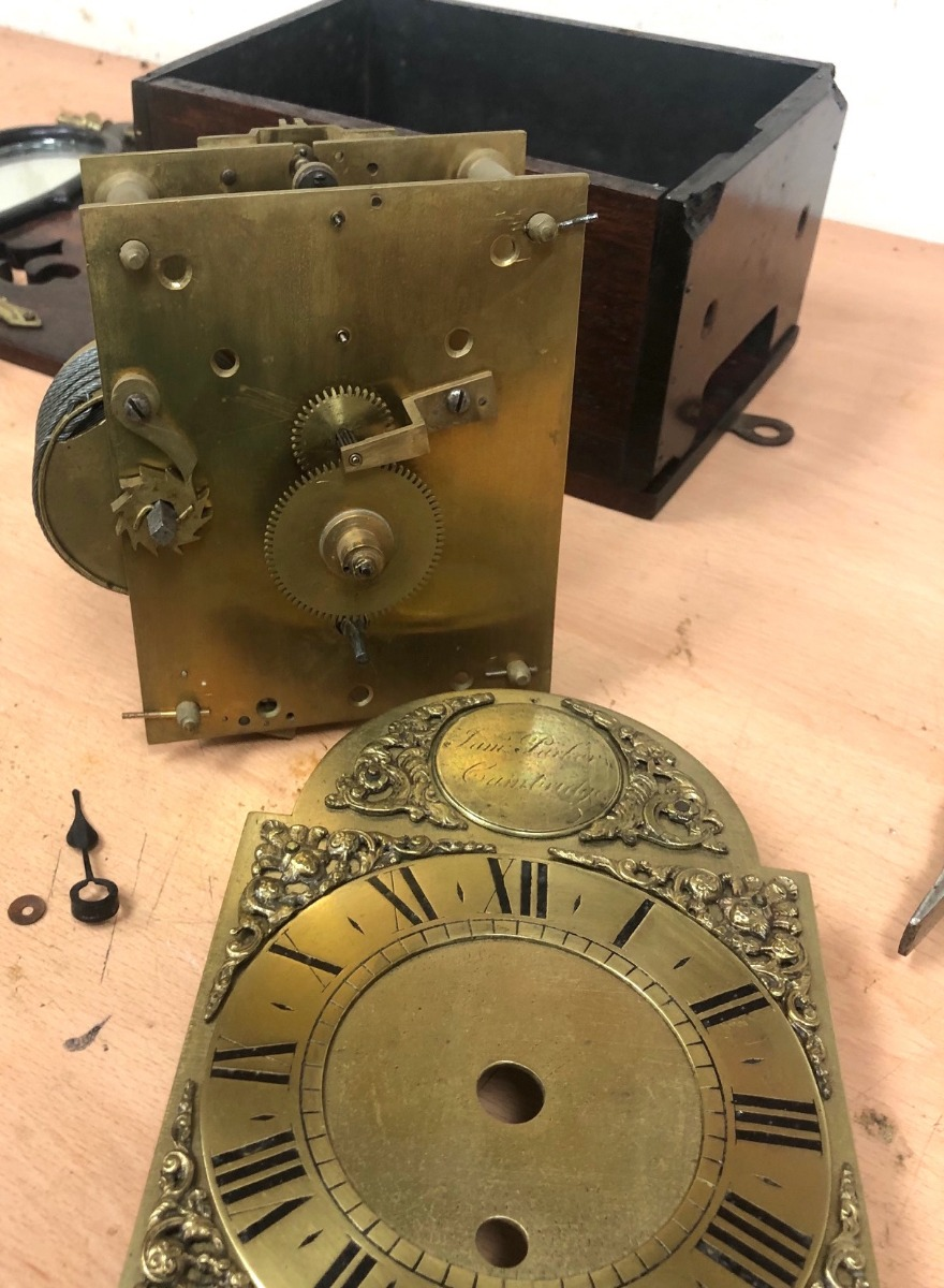 Clock Dial Restoration Clock Dial Cleaning & Re Painting