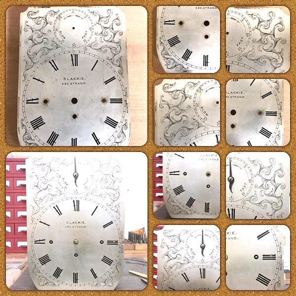 Antique Clock Dial Restoration