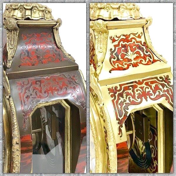 Antique Boulle Clock Restoration www.ukhorology.com Restoration