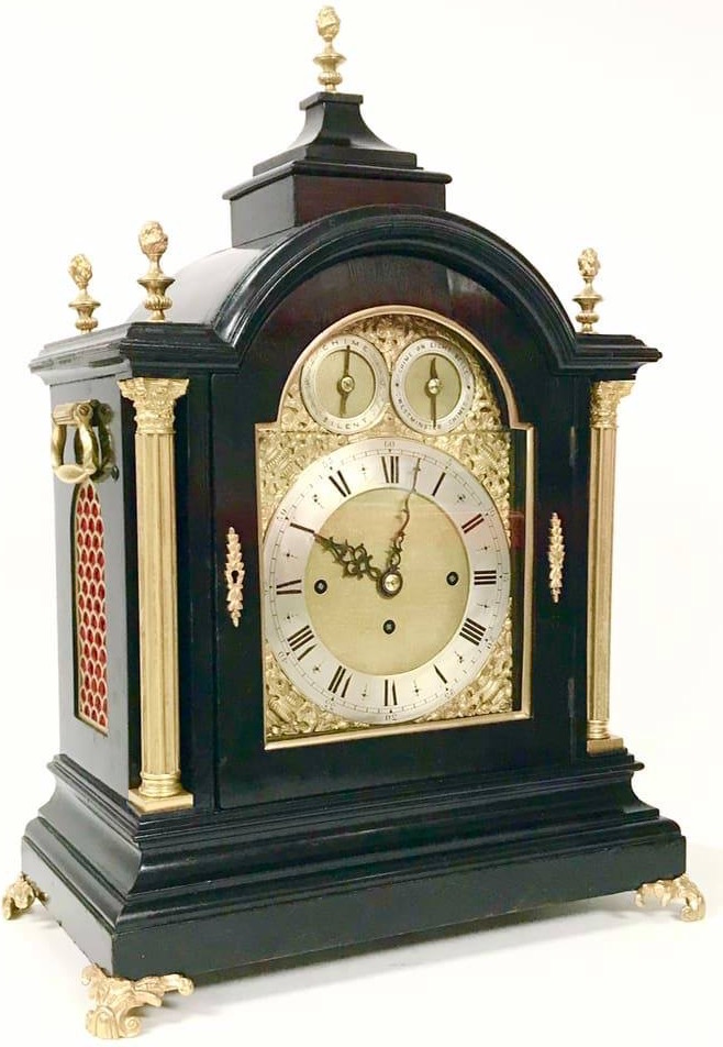 8 Bell Bracket Clock
