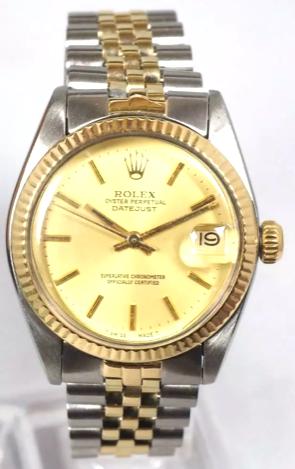 Rolex Gold & Steel