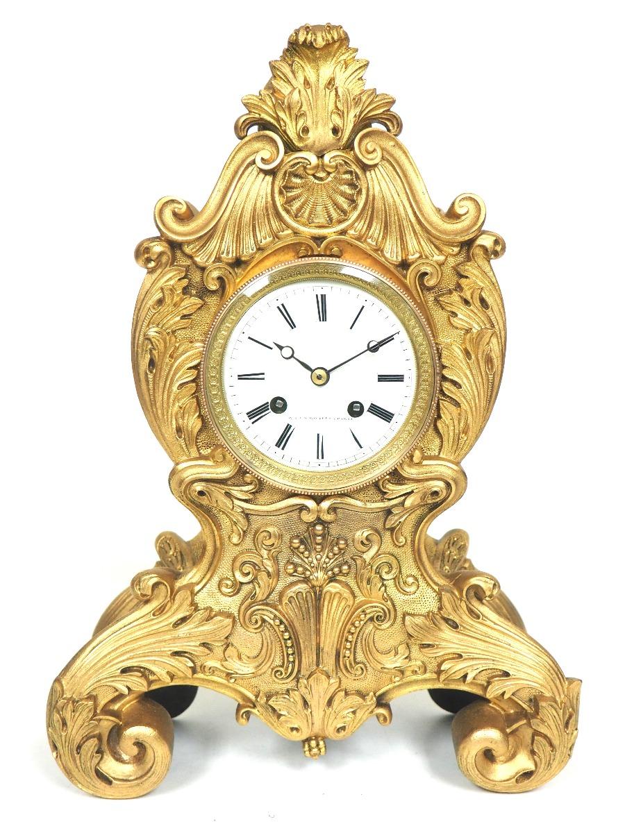 French Ormolu Clock